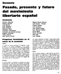Pasado, presente y futuro del movimiento libertario
