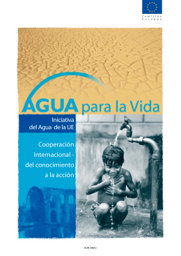 Agua para la Vida - European Commission