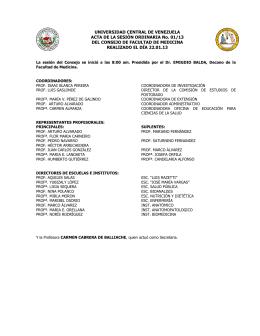 CF01-13 - Universidad Central de Venezuela