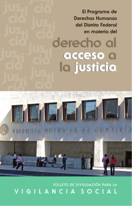 derecho al acceso a la justicia derecho al acceso a