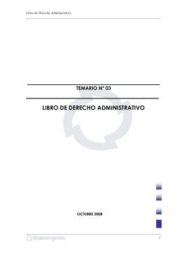 LIBRO DE DERECHO ADMINISTRATIVO