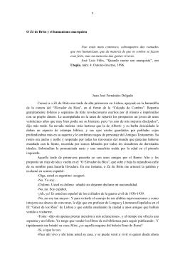 Zè Brito, el anarquista portugués