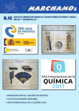 numero40 ( 5250.59 Kb) - Oficina Española de Patentes y Marcas