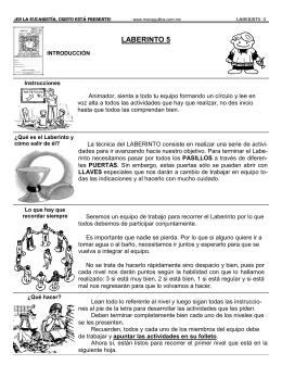 LABERINTO 5 - Monaguillos