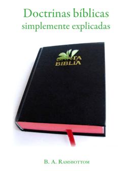 Doctrinas bíblicas simplemente explicadas