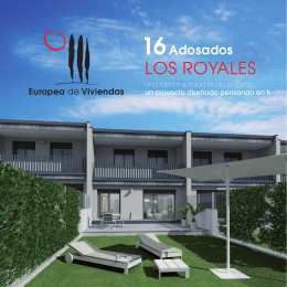 16 Adosados Los Royales