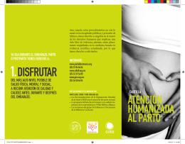 ATENCIÓN HUMANIZADA AL PARTO - DIF-DF