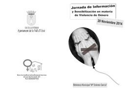 folleto jornadas 20 nov