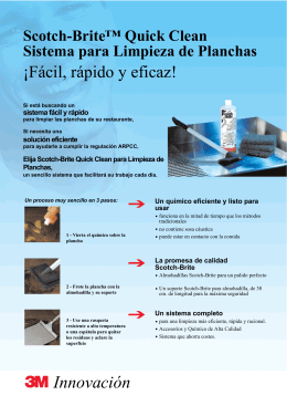 Folleto QuickClean