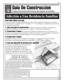 Guia De Construccion - Colorado Chapter of the International Code