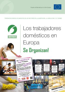 Los trabajadores domésticos en Europa Se Organizan!