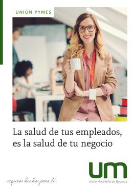 Folleto Pymes A4 - Unión Madrileña de Seguros