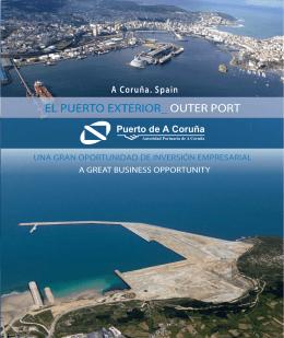 Folleto Puerto Exterior, oportunidad de inversión empresarial