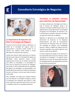 Descargar Folleto - Tecnología Empresarial