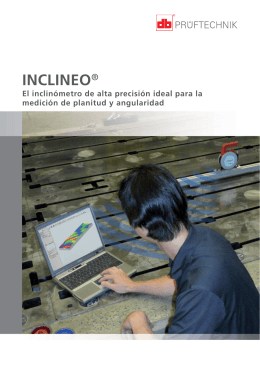 INCLINEO® - Pruftechnik