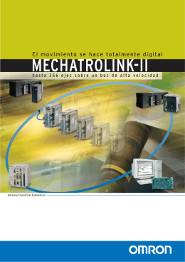 Mechatrolink II Folleto