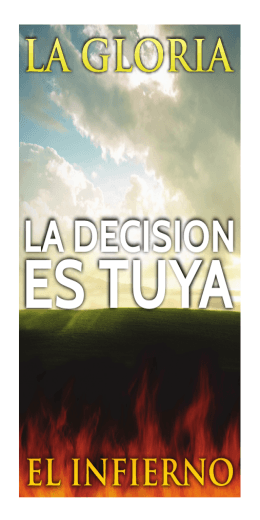 ES TUYA ES TUYA - Fellowship Tract League
