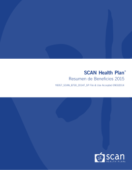 Scripps Plus offered by SCAN Health Plan