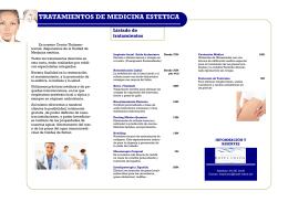 folleto Carta de Medicina Estetica.pub