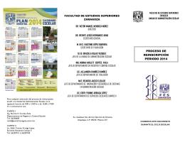 FOLLETO INFORMATIVO REINSCRIPCION 2014.pub