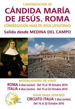 78966.Folleto Candida Maria MEDINA