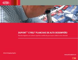 DUPONT™ CYREL® PLANCHAS DE ALTO DESEMPEÑO