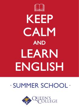 · SUMMER SCHOOL·