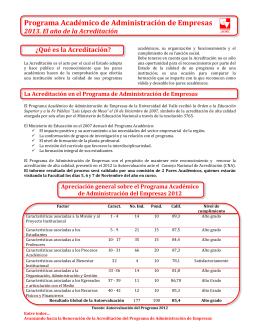 Folleto Proceso de Autovaluación 2012