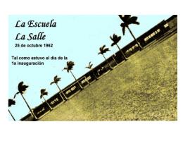 1962 El expresidente de Nic René Shick Inaugura la Esecuela La