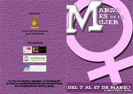 folleto dia de la mujer