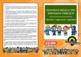 Folleto EBEP +Derecho+Más Negociación+Igualdad