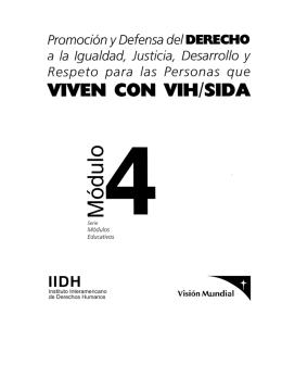 Módulo 4: Promoción y Defensa del derecho a la Igualdad, Justicia