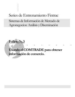 Series de Entrenamiento Fintrac