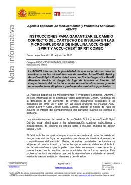 Agencia Española de Medicamentos y Productos Sanitarios AEMPS