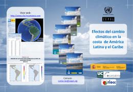 Folleto Proyecto Costas y CC en ALyC