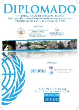 Internacional de Especialización Sesión Presencial