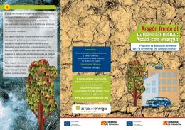 Aragón frente al cambio climático
