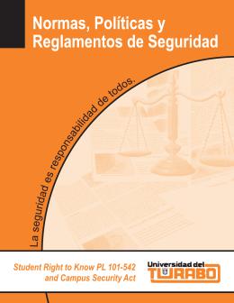 Normas y Políticas y Reglamentos de Seguridad