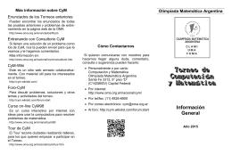 Acrobat () - Olimpíada Matemática Argentina