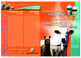 Folleto corregido Cloxantel y Cloxantle plus2007.cdr