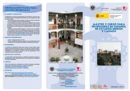 folleto 2014.FH10 - Centro de Lenguas Modernas