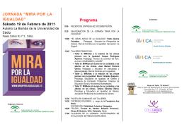 folleto Mira por la Igualdad LOGOS