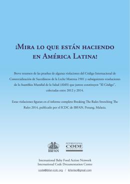 ¡Mira lo que están Haciendo en América Latina!