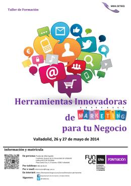 Folleto - Formación - Universidad de Valladolid