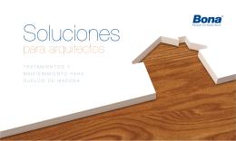 Folleto especial para arquitectos y decoradores