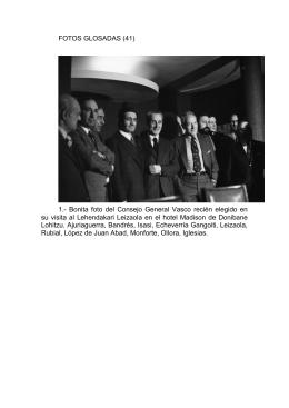 FOTOS GLOSADAS (41) 1.- Bonita foto del Consejo General Vasco