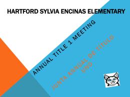 Hartford Sylvia Encinas Elementary