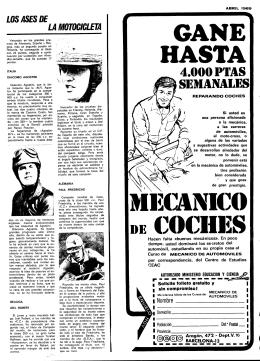 LA MOTOCICLETA - Mundo Deportivo