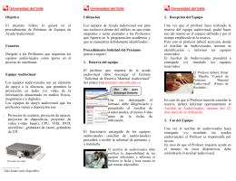 Objetivo El presente folleto lo guiará en el procedimiento de