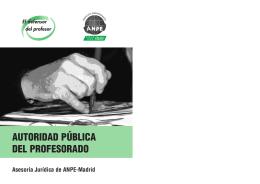 Autoridad pública del profesorado - ANPE